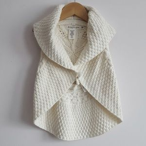 Toddler Knitted Tie Vest